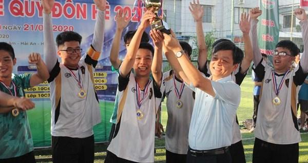 Trường THPT Lê Quý Đôn, quận Hải An: Chung kết và trao giải bóng đá truyền thống hè năm 2020