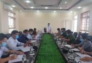 Phó Chủ tịch UBND thành phố Lê Khắc Nam làm việc với huyện Tiên Lãng về phòng chống COVID-19