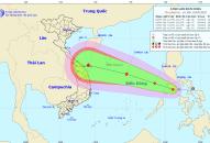 Áp thấp nhiệt đới chuẩn bị đi vào Biển Đông và tiếp tục mạnh lên