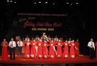 Liên hoan tiếng hát hòa bình – Hải Phòng 2020
