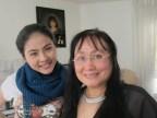 Diễn viên Vân Trang và đạo diễn Nguyễn Thị Minh Ngọc