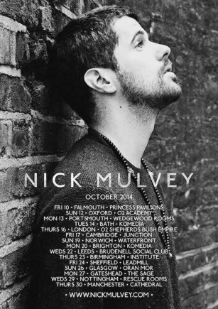 Nick Autumn Tour Artwork
