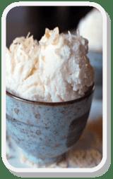 Toasted Coconut Gelato http://goo.gl/EXnKmw