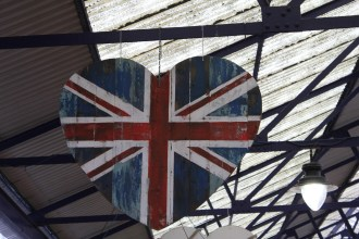 Hop on the DLR and head to the Greenwich Market for loads of British (and other) goods.