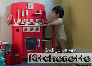 Indigo Jamm Red Kitchenette Diner Playset
