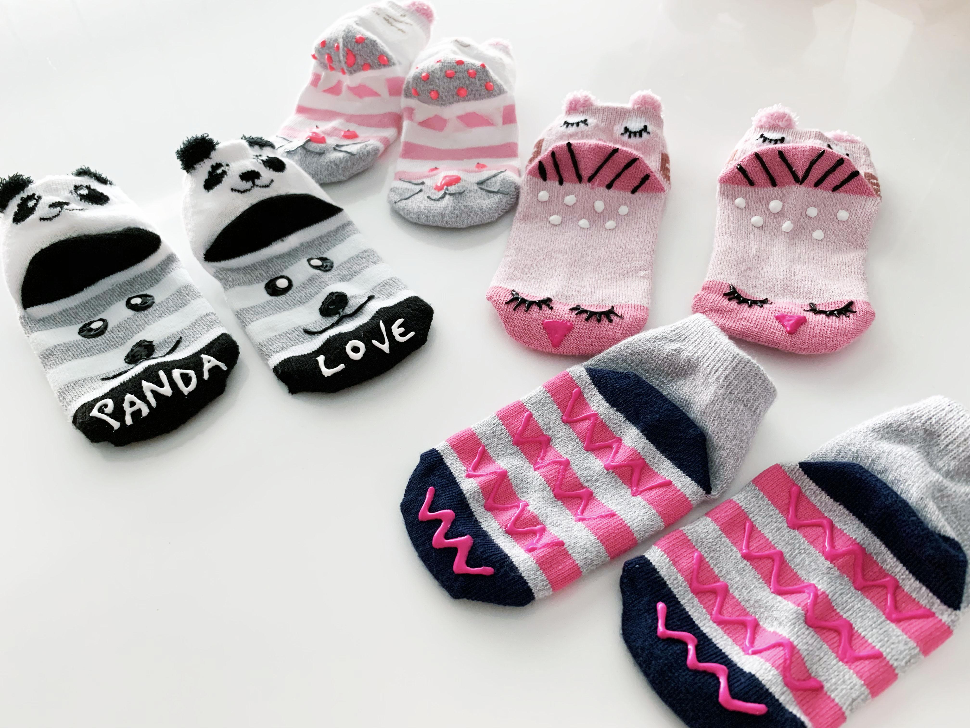 DIY Non Slip Socks