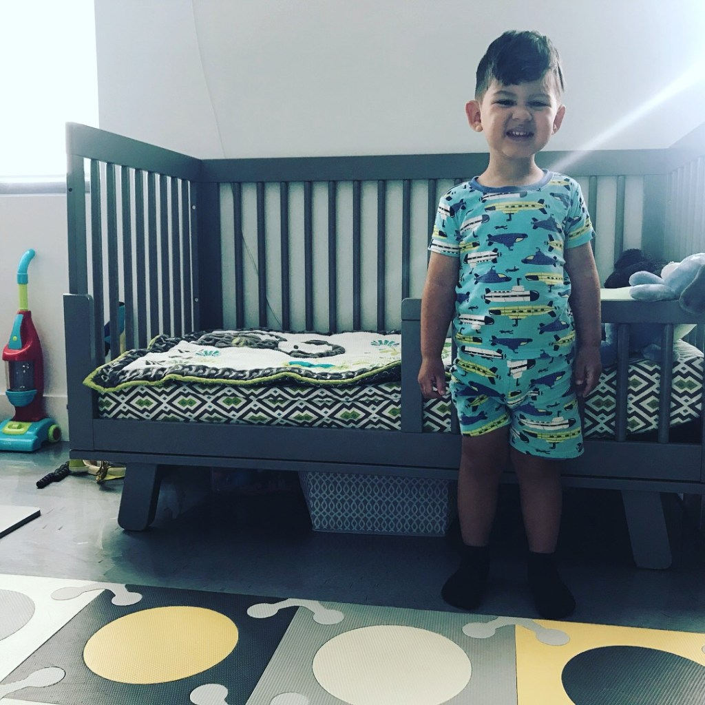 Easy DIY Toddler Bed Bumper - Solution for Toddlers Falling Out of Bed