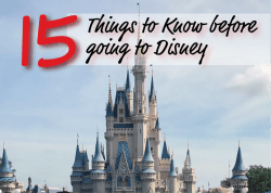 15 Things to Know Before Going To Disney - Top Tips to Plan Your Trip