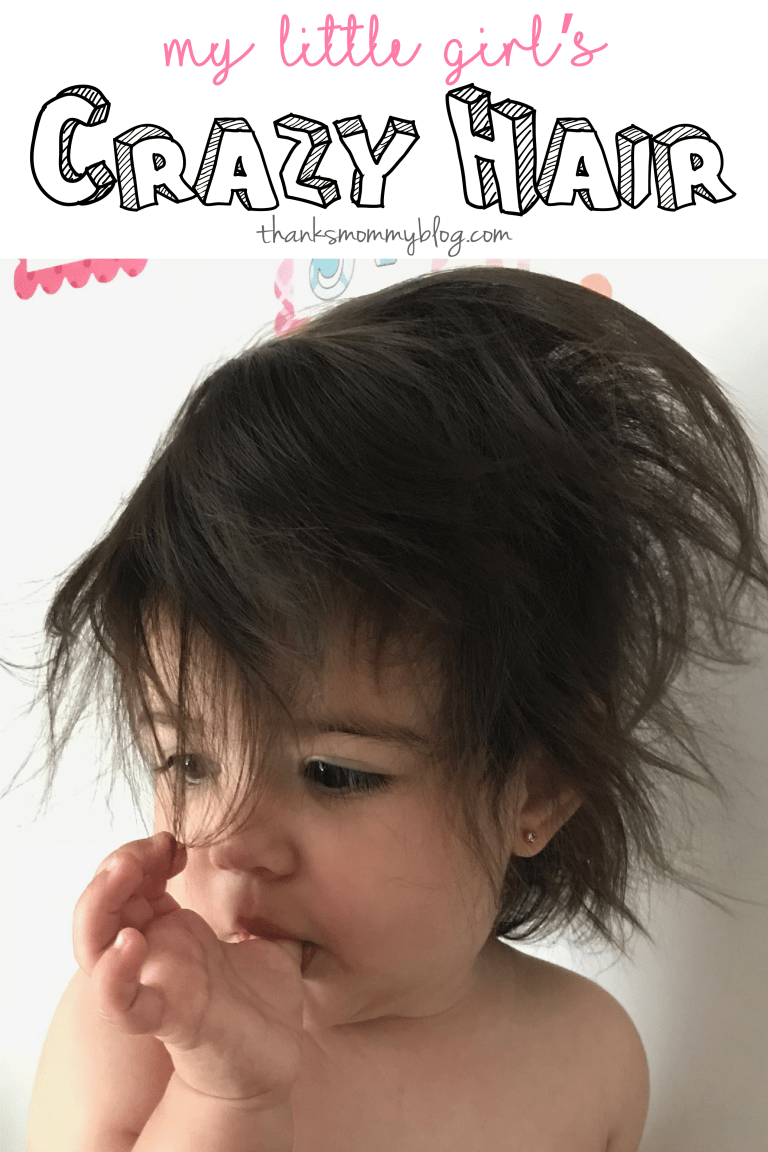 Toddler Silly Baby Hair