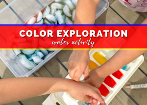 Read more about the article Easy Color Exploration Water Activity That's Guaranteed To Actually Entertain