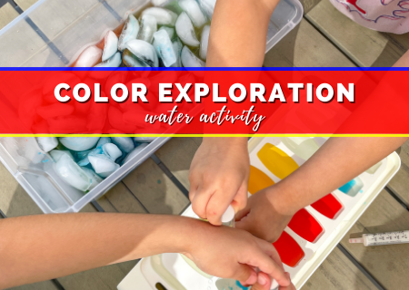 Easy Color Exploration Water Activity That's Guaranteed To Actually Entertain