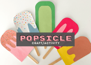 Read more about the article Fun And Unique Paper Popsicle Craft Activity For Kids – How To Guide