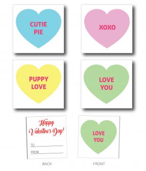 Valentine Hearts Handout