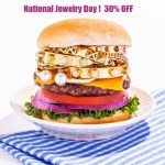 National Jewelry Day – get 30% OFF