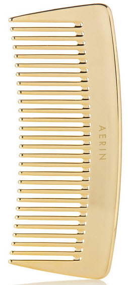 AERIN TRAVEL GOLD-TONE COMB