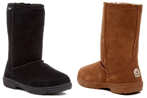 Cixme Bearpaw Meadow Wool & Genuine Sheepskin Lined Boot