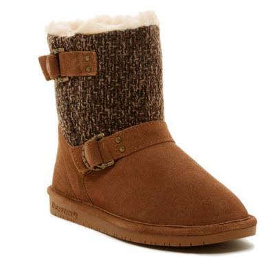 Preturi cizme Bearpaw Nova Suede & Genuine Sheepskin Boot