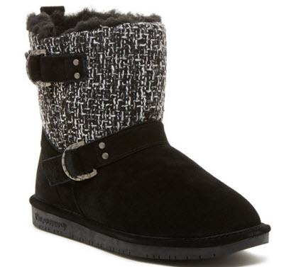 cizme Bearpaw Nova Suede & Genuine Sheepskin Boot