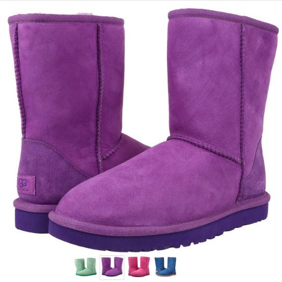 cizme classic UGG violet