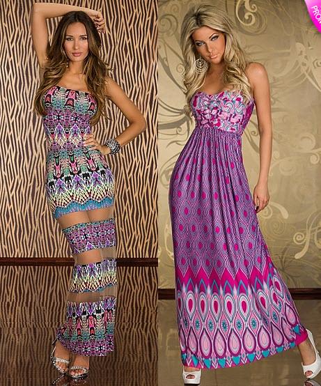 rochii de primavara cu print etnic