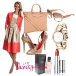 Rochie colorblock cu jacheta – La ce o asortezi in 2015