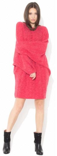 rochii tricotate dama extra large roz