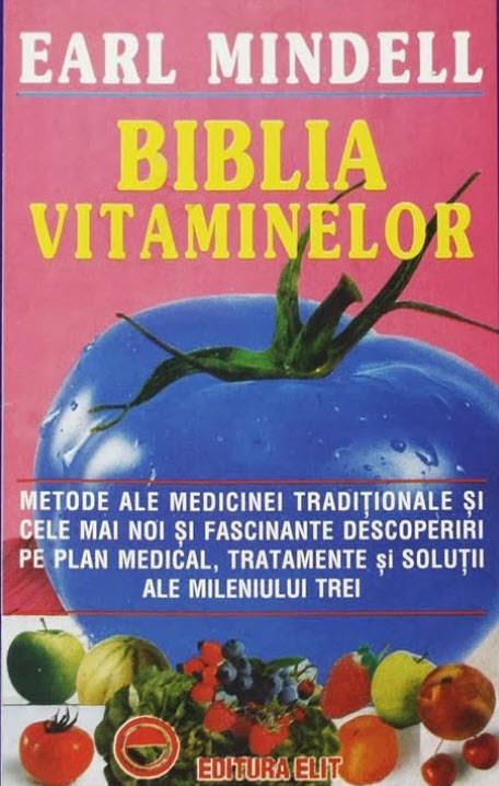 cartea biblia vitaminelor