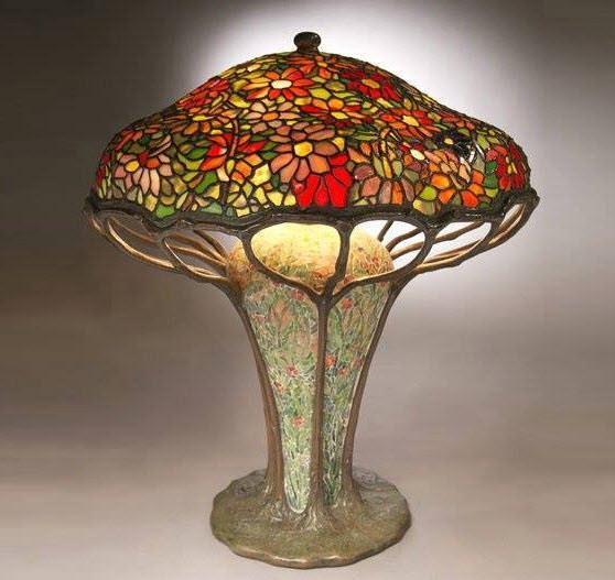 Art Nouveau Lamp by L.C. Tiffany ca.1910