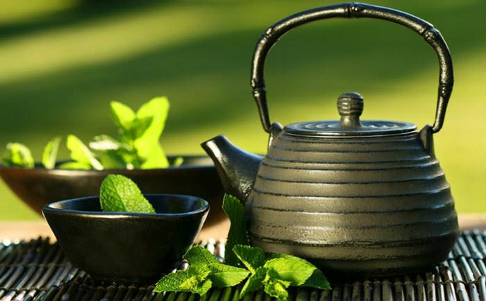 slabesti cu ceai verde