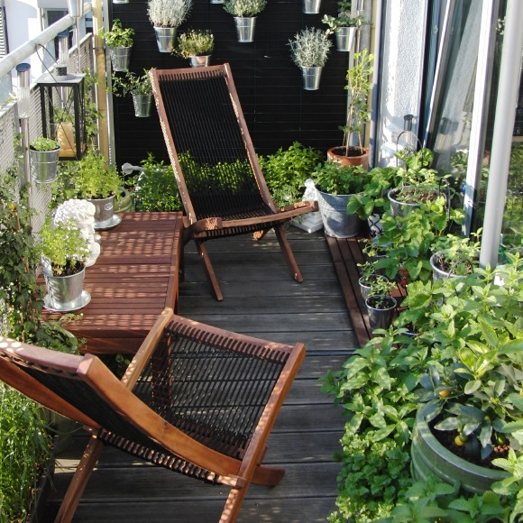 balcon in stil scandinav