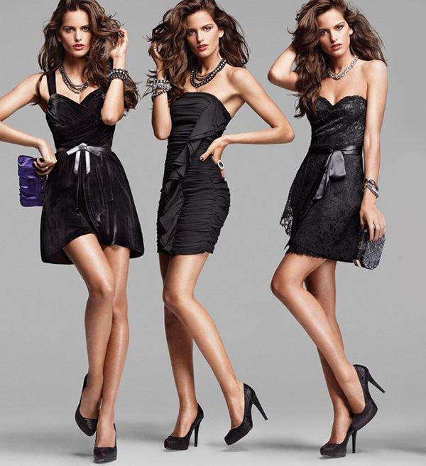 rochia neagra cum o porti