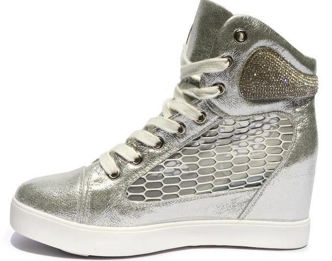 Sneakers Sunshine Argintiu