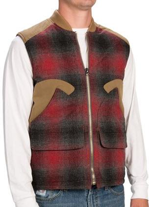 vesta lana barbati cu fermoar