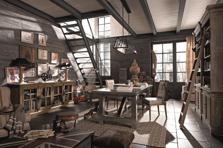 amenajare loft in stil industrial