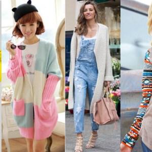 Modele de jachete si cardigane tricotate online - Oferta femei