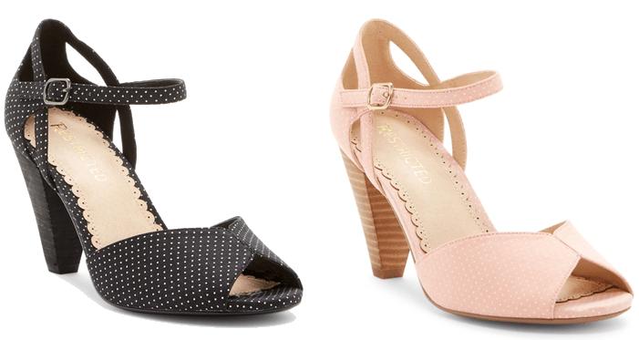 pantofi de dans cu buline pe roz si negru