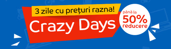 crazy days eMAG dupa Black Friday