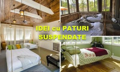 idei cu paturi suspendate de tavan