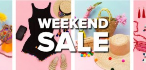 Reduceri de weekend – Coduri de reducere pentru haine accesorii IT cosmetice