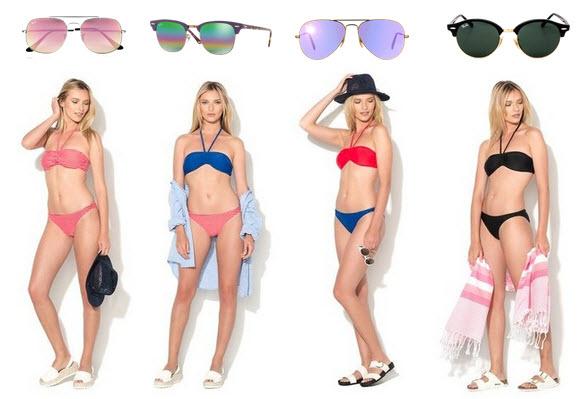 reduceri la costume de baie si ochelari de soare