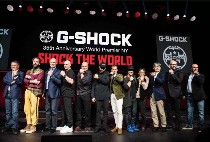 G-Shock Madison Square Garden din New York