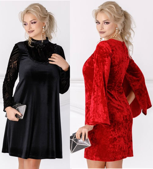 rochii de catifea masuri mari