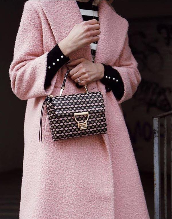 combinatia dintre roz si negru este intotdeauna o idee buna