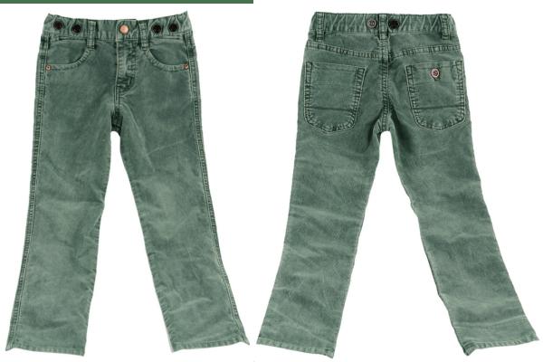 Pantaloni ZARA Kensington Dark Green