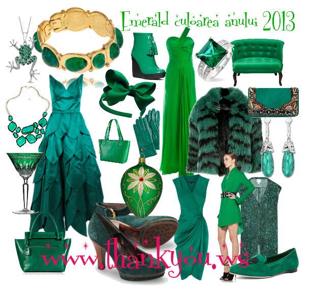 culoarea anului 2013 smaraldul