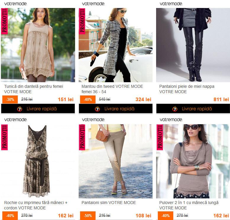 promotii haine mari Votre mode