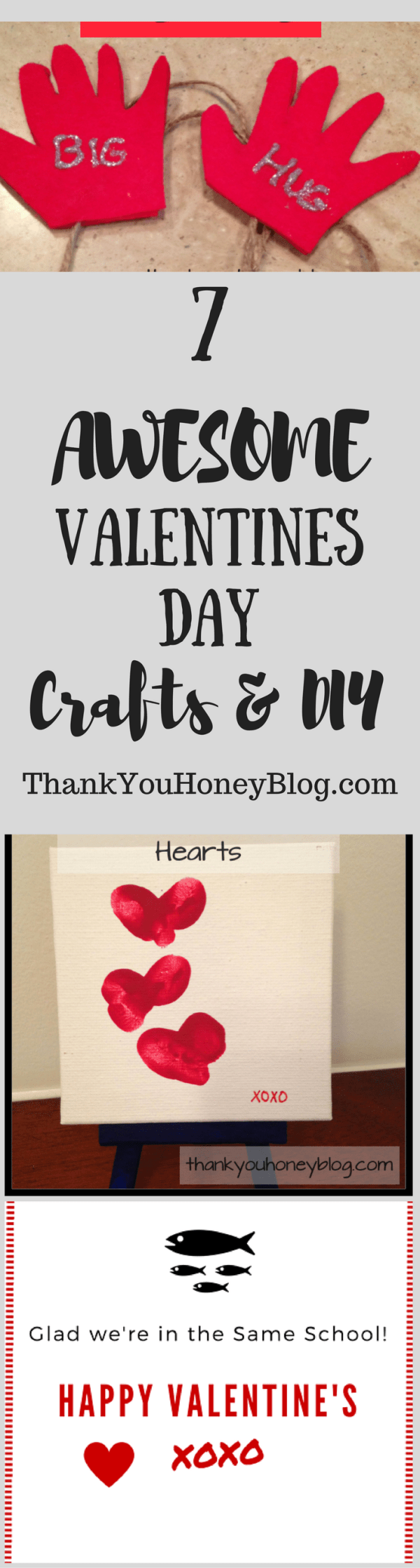7 AWESOME Valentines Day Crafts & DIY — Thank You Honey