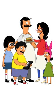 The Belcher family, from Bob's Burgers. Courtesy of FOX.