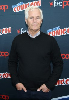 THE X-FILES: THE X-FILES Creator/Executive Producer Chris Carter in the press room during FOX FANFARE 2015 at New York Comic Con on Saturday, Oct. 10 at Javits Center in New York, NY. CR: Ben Hider/FOX