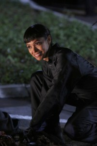 "BONES: Tamara Taylor in the second part of the two-hour ""The Cowboy in the Contest/The Doom in the Boom"" fall finale episode of BONES airing Thursday, Dec. 10 (8:00-10:00 PM ET/PT) on FOX. ©2015 Fox Broadcasting Co. Cr: Patrick McElhenney/FOX"